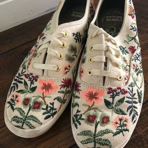 Keds Rifle Paper Co. Floral Sneakers